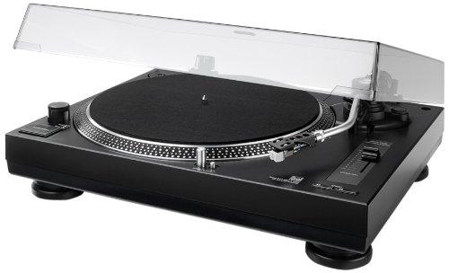 Dual DTJ 301.1 USB DTJ USB DJ-platenspeler (33/45 rpm, pitch-control, magneet-pick-upsysteem, naaldverlichting, USB) Directe aandrijving met DJ-functie zwart