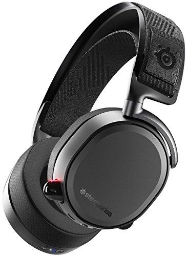 SteelSeries Arctis Pro Wireless - Draadloze Gaming Headset - Hi-Res luidsprekerstuurprogramma's - Tweevoudig draadloos (2.4G & Bluetooth) - Zwart
