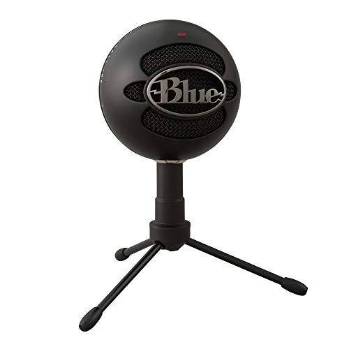 Blue Microphones Snowball iCE Plug 'n Play USB-microfoon voor Opnemen, Podcasten, Uitzenden, Twitch-gamestreaming, Voice-overs, YouTube-video's op Pc en Mac - Zwart
