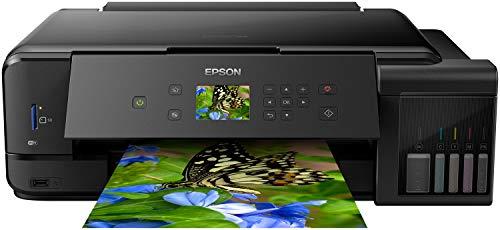 Epson Fotoafdrukken Van Hoge Kwaliteit Inkjetprinter, Ecotank Et-7750/C11Cg16401, Zwart