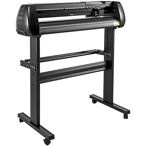 VEVOR 34 Inch vinyl schneideplotter vinyl cutter plotter 870mm Slogan Snijplotter basic vinyl cutter machine Singmaster Software