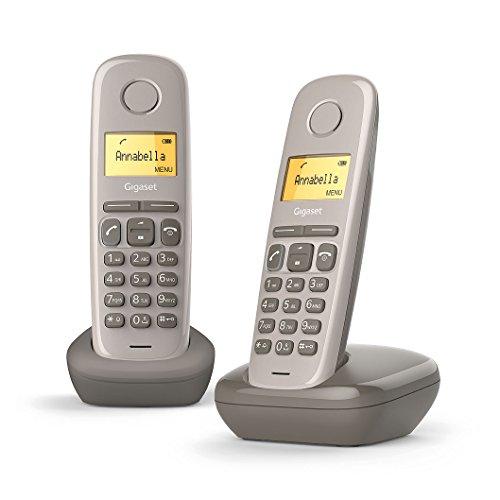 Gigaset A170 Duo draadloze telefoon DECT/GAP, taupe