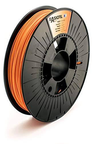 BASICFIL PLA (3D-printer filament), 1,75 mm, 500 g, oranje