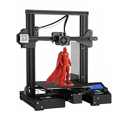 3D-printer Creality Ender 3 Pro geïnstalleerd met MeanWell Power, verwijderbaar gebouwgebied, hervatting van het afdrukvolume 220 * 220 * 250mm
