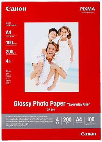 Canon GP-501 fotopapier (200 g/m²), A4, 100 vellen