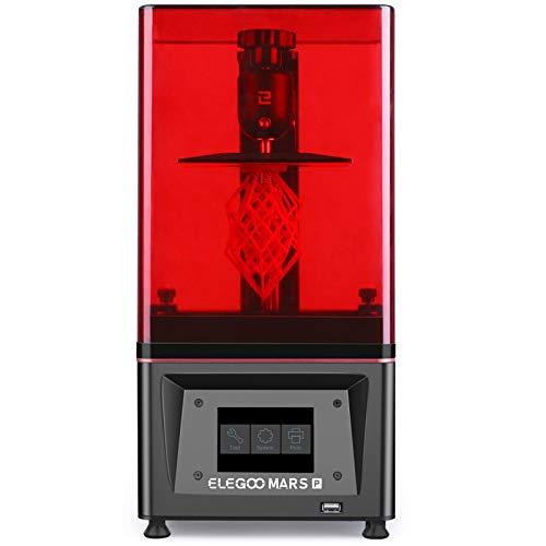 ELEGOO Mars Pro MSLA 3D Printer UV Photocuring LCD 3D Printer met Matrix UV LED Lichtbron, Geïntegreerde Actieve Kool, Offline Druk Afdrukformaat 115 x 65 x 150 mm