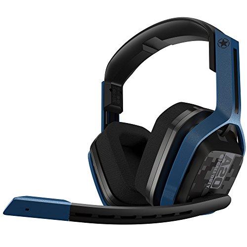 ASTRO Gaming A20 Draadloze Gaming Headset Call of Duty Edition, ASTRO Audio, Dolby ATMOS, 15u Batterijduur, Schadebestendig, 5.8 GHz Wireless, voor PS5, PS4, PC, Mac, Switch - Zwart/Marineblauw