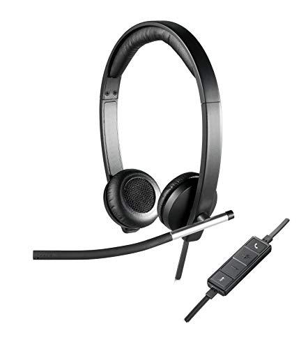 Logitech 981-000519 H650E Stijlvolle En Geavanceerde Stereo Headset Voor Professionele Audio