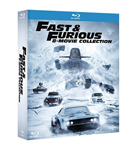 fast & furious - 8 movie collection (8 blu-ray) box set BluRay Italian Import [Blu-ray]