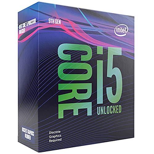 Intel BX80684I59600KF Core Coffee Lake i5-9600KF Processor, 9MB, 4.60 GHz, 14nm